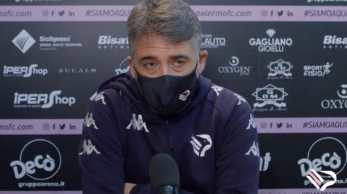 """Palermo, Boscaglia: """"Questa vittoria la dedichiamo alla piccola Marta"""" – VIDEO"""