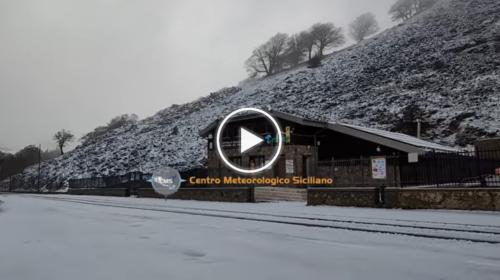 Palermo, torna a nevicare su Piano Battaglia: le immagini – VIDEO