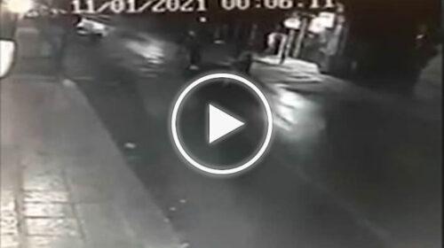 Palermo, durante il coprifuoco rompono telecamere e luci con bastoni in via Maqueda – VIDEO