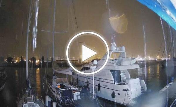 Maltempo su Palermo, le immagini IN DIRETTA dalle webcam della città – VIDEO