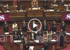 Conte in Senato ricorda Paolo Borsellino, in Aula parte un lungo applauso – VIDEO