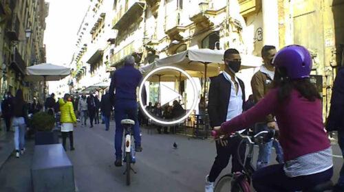 Domenica a Palermo: le immagini da via Maqueda – VIDEO