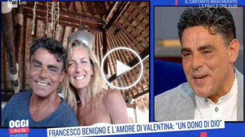"""Francesco Benigno si racconta in TV: la vita per strada, la fama, la rinascita. Poi annuncia: """"A giugno  mi sposo"""" – VIDEO"""