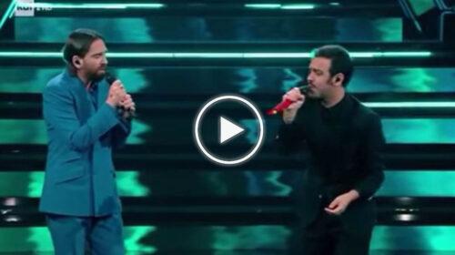 Sanremo, Colapesce e Dimartino cantano Povera Patria: l'emozionante omaggio a Franco Battiato – VIDEO