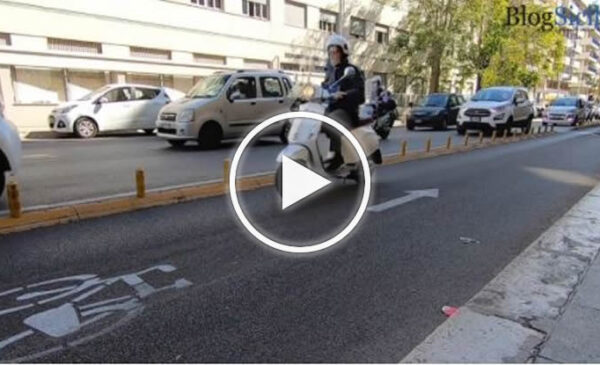 Pista ciclabile a Palermo, percorrerla è un'avventura, tra favorevoli e contrari – VIDEO