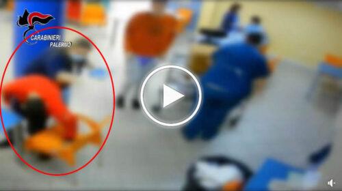 Centro per disabili lager a Palermo, pazienti derisi, offesi e spinti per terra: le immagini delle violenze – VIDEO