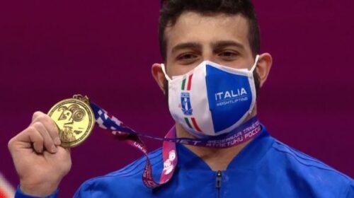 """Nino Pizzolato medaglia d'oro agli Europei di pesistica, """"Ho vinto una sfida con me stesso"""" – VIDEO"""