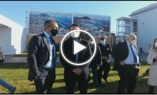 Il porto di Palermo cambia volto, la visita del sottosegretario Cancelleri – VIDEO