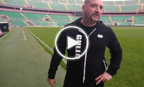Francesco Gullo in lacrime per il ritorno al Barbera – VIDEO