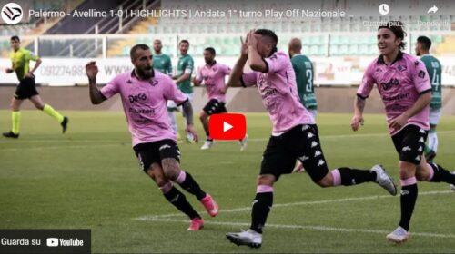 Palermo – Avellino 1-0: gli highlights del match | VIDEO