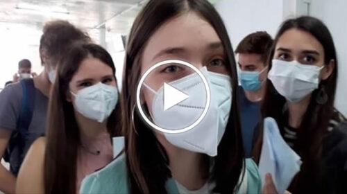 """Palermo, la carica dei maturandi: """"Ci vacciniamo per tornare alla normalità"""" – VIDEO"""
