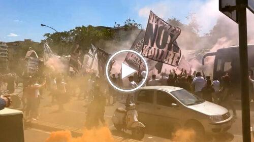 Accoglienza pazzesca dei tifosi al Renzo Barbera per i rosanero – VIDEO