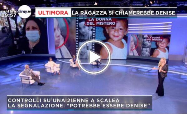 Denise Pipitone, accertamenti in corso sulla ragazza 21enne fermata a Scalea: si chiama proprio Denise – VIDEO