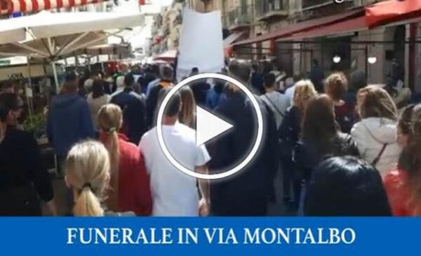 Giovanni morto a 24 anni, corteo in via Montalbo – VIDEO
