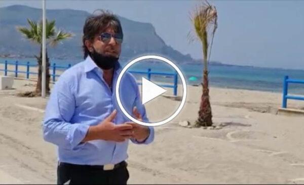 Lidi balneari a Capaci, scoppia la guerra tra un gestore e il sindaco – VIDEO