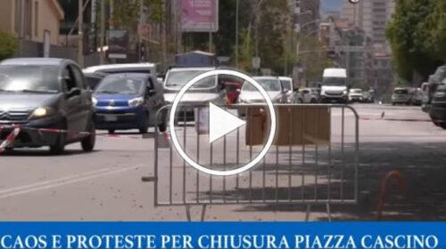 Revocato dopo 24 ore il senso unico in piazza Generale Cascino – VIDEO