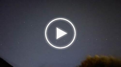UFO sui cieli di Terrasini? No… ecco cosa sono quei 'puntini' – VIDEO