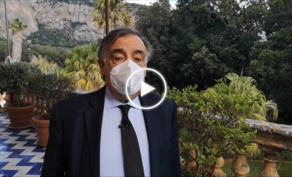 """Zona Gialla, Orlando: """"Fondamentali i sacrifici dei Palermitani, questo obiettivo deve essere rafforzato"""" – VIDEO"""