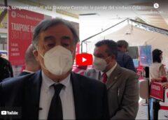 Stazione centrale Palermo: tamponi gratuiti per chi parte – VIDEO