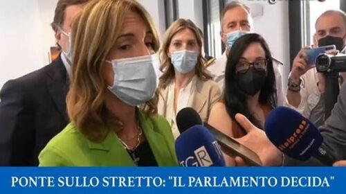 """Ponte sullo Stretto, """"Il Parlamento decida in tempi rapidi"""" – VIDEO"""