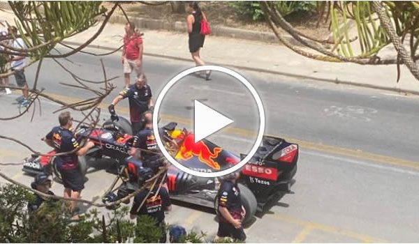 Formula 1, Red Bull Racing a Mondello: le immagini – FOTO e VIDEO