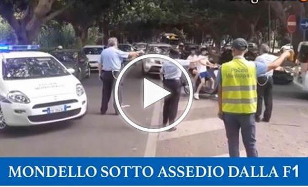 F1 a Mondello, traffico e commercio in tilt per un video della Red Bull – VIDEO