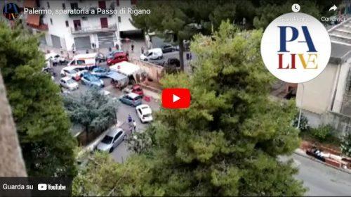 Sparatoria per affitto non pagato: le immagini da via Roccazzo – VIDEO