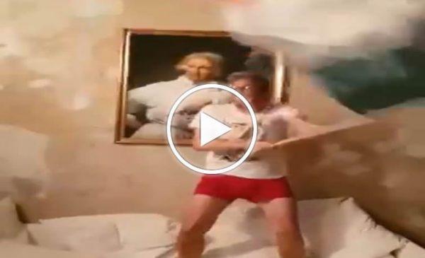 """Europei 2020, """"Come vincere con la figlia che dorme"""", l'esultanza silenziosa di Pif è virale – VIDEO"""