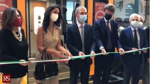 """Consegnati nuovi treni Pop, """"Sicilia tra le prime regioni per aumento viaggiatori"""" – VIDEO"""