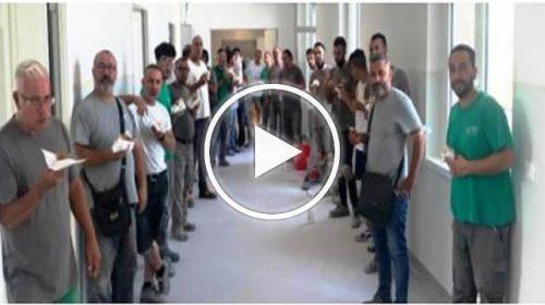 Covid19, nuova terapia intensiva aggiuntiva al Civico, si lavora anche oggi – VIDEO