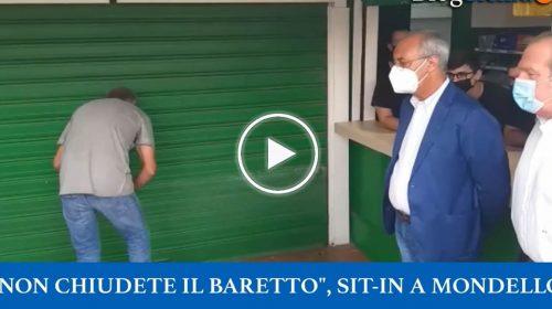 Sit-in per il Baretto di Mondello per evitare lo sfratto – VIDEO