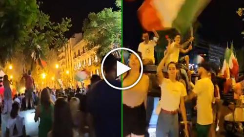 Italia campione d'Europa: la grande festa esplosa a Palermo – VIDEO