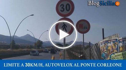 Limite a 30 km/h sul ponte Corleone, scattano autovelox fissi e controlli serrati – VIDEO