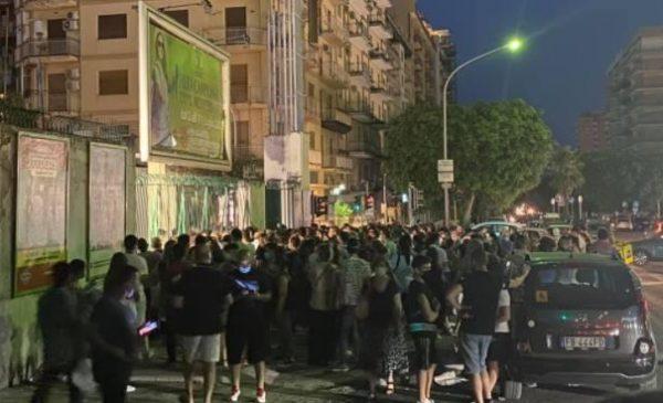Covid19, la notte dei vaccini in fiera a Palermo – LE IMMAGINI