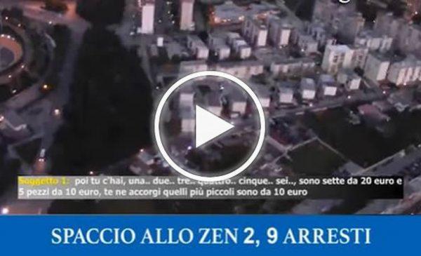 Colpo allo spaccio allo Zen 2 di Palermo, 9 arresti nella notte tra questi un ex spazzino della Rap – VIDEO