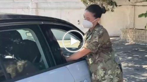 Palermo, effettuati i primi vaccini in modalità drive-in alla Fiera del Mediterraneo – VIDEO
