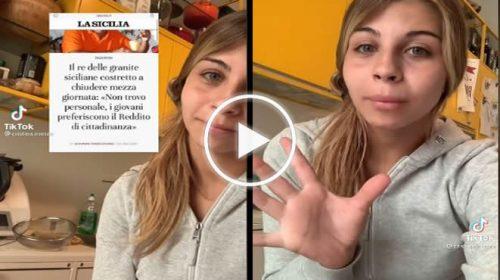Bar senza camerieri in Sicilia, «Meglio il reddito di cittadinanza… vi spiego perchè!» – VIDEO 🎥