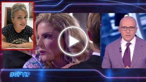 """GF VIP, Francesca Cipriani incontra il fidanzato ed è incontenibile: """"Non ce n'è Covid!"""". Angela da Mondello furiosa –  VIDEO"""