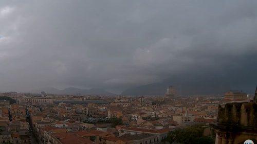 Maltempo e temporale su Palermo: le immagini IN DIRETTA – VIDEO